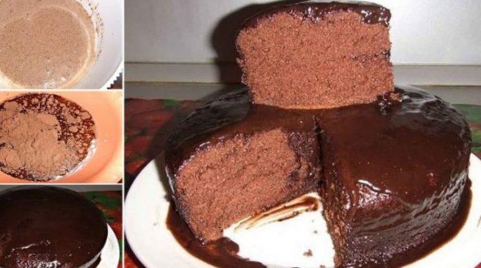 O să îndrăgiți îndată această prăjitură: Kuche de Ciocolata. Un desert delicios, pufos și cu un gust intens de ciocolată!