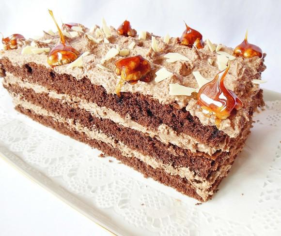 RETETA ZILEI – cel mai bun Tort cu cremă de unt şi nucă. Nu-mi vine sa cred ce usor se face si cat de bun este
